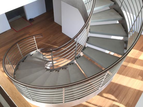 Custom Made Spiral Stair
