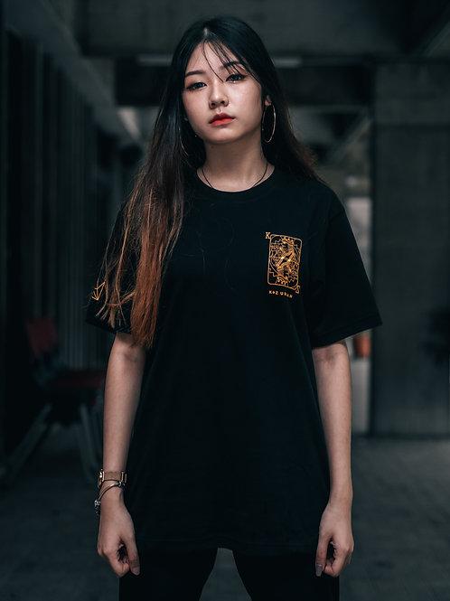 Crown Tape Short Sleeve (Black)
