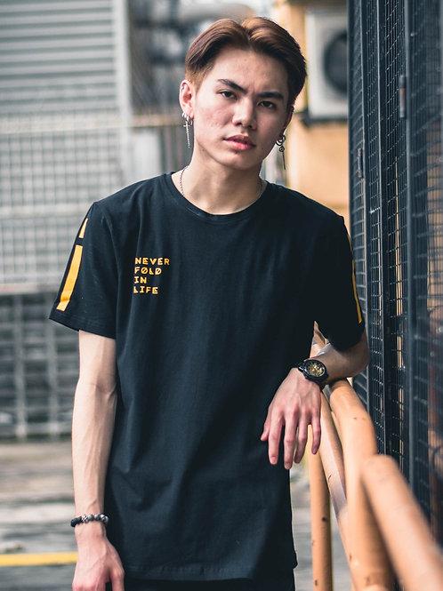 Futuristic Unisex Black Short Sleeve