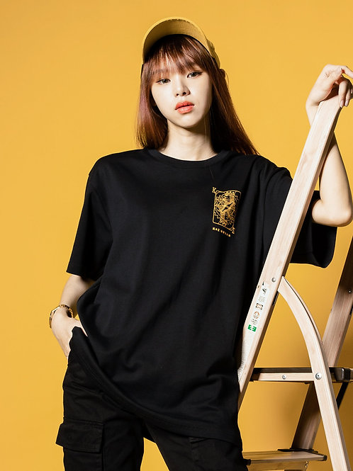 Crown Tape Short Sleeve (Black)