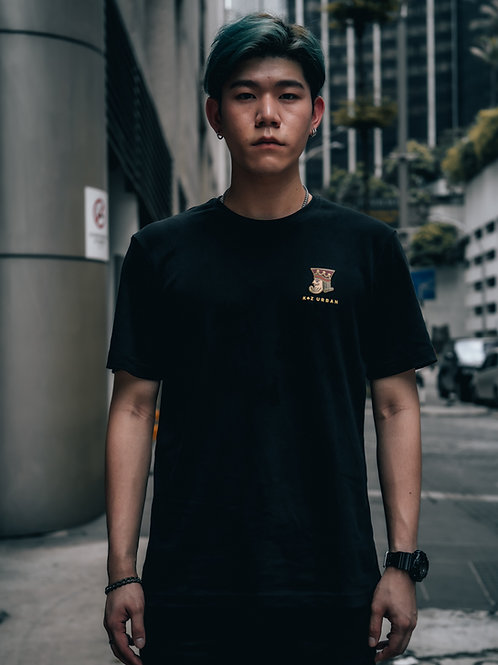 Mosaic King Short Sleeve (Black)