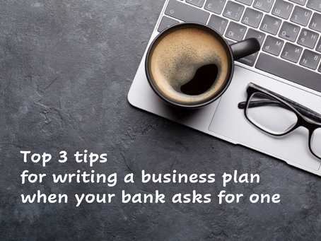 3 Tips For Writing a Standout Business Plan for a Bank Loan Application