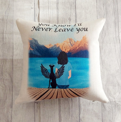 Never Leave You Cushion