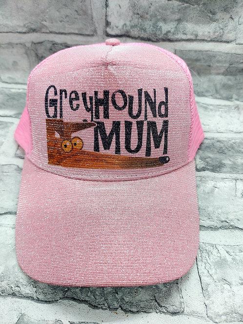 Greyhound Mum Vintage Richard Skipworth Cap