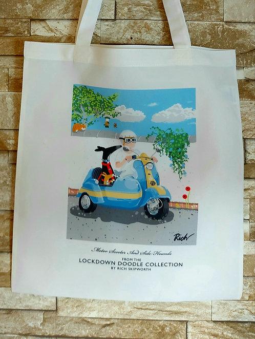 Richards Doodle Tote Bag