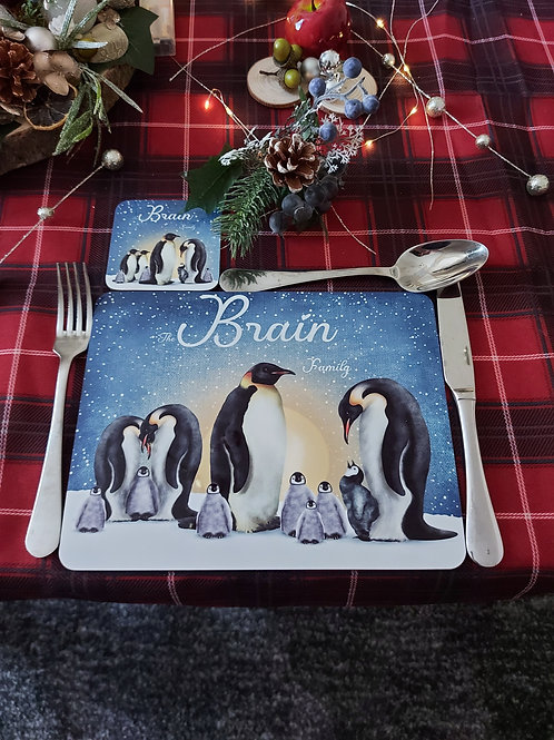 Personalised Placemat and Coaster