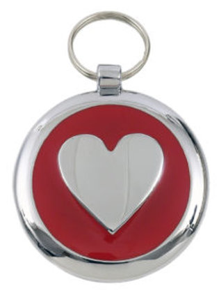 Smarties Heart Tag Free Engraving