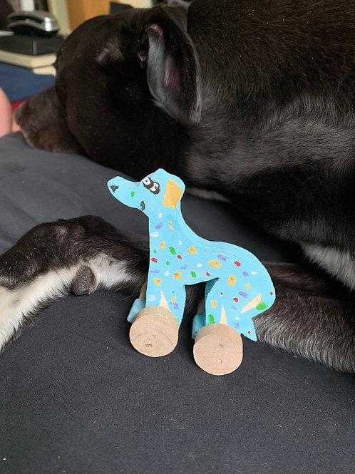 Greyhound Wibbly Wobbly