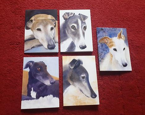 Greyhound Love Cards
