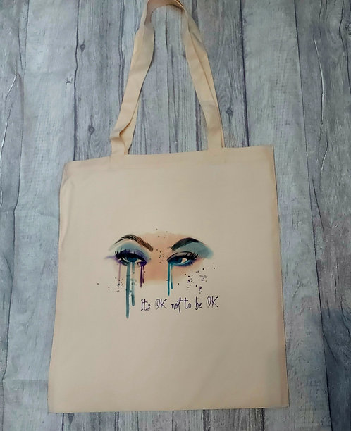 It's Ok Not To Be Ok Tote-Bag
