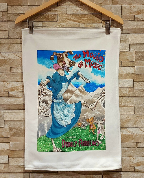 The Hound of Music T Towel