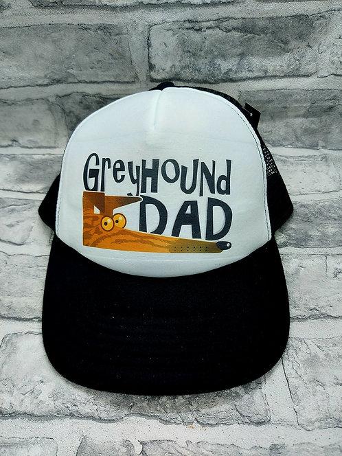 Greyhound Dad Vintage Cap