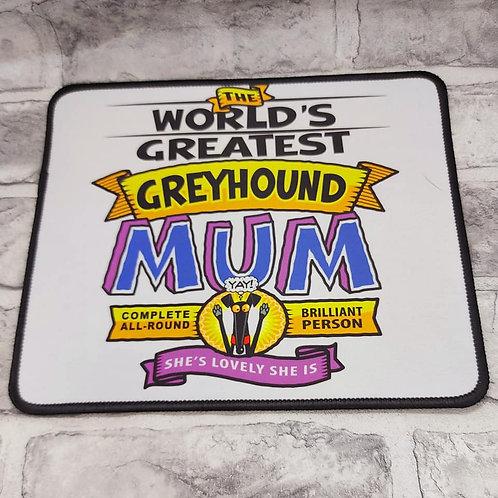 Greatest Mum Mouse Mat