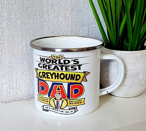 Fathers Day Metal Mug by Richard Skipworth