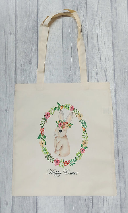Easter Tote Bag With Your Name