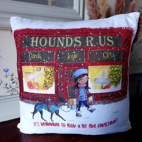 Hounds R Us Cushion