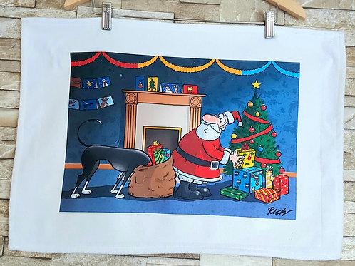 Christmas Card T Towel