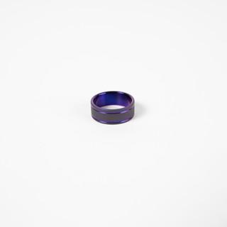 sandblasted titanium w- plum crazy purpl