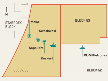 """Scale of resources, production potential at Suriname's Block 58 """"bigger than big"""" says APA official."""