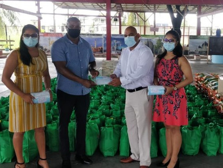GoGEC facilitates over $2M in flood relief supplies to CDC.