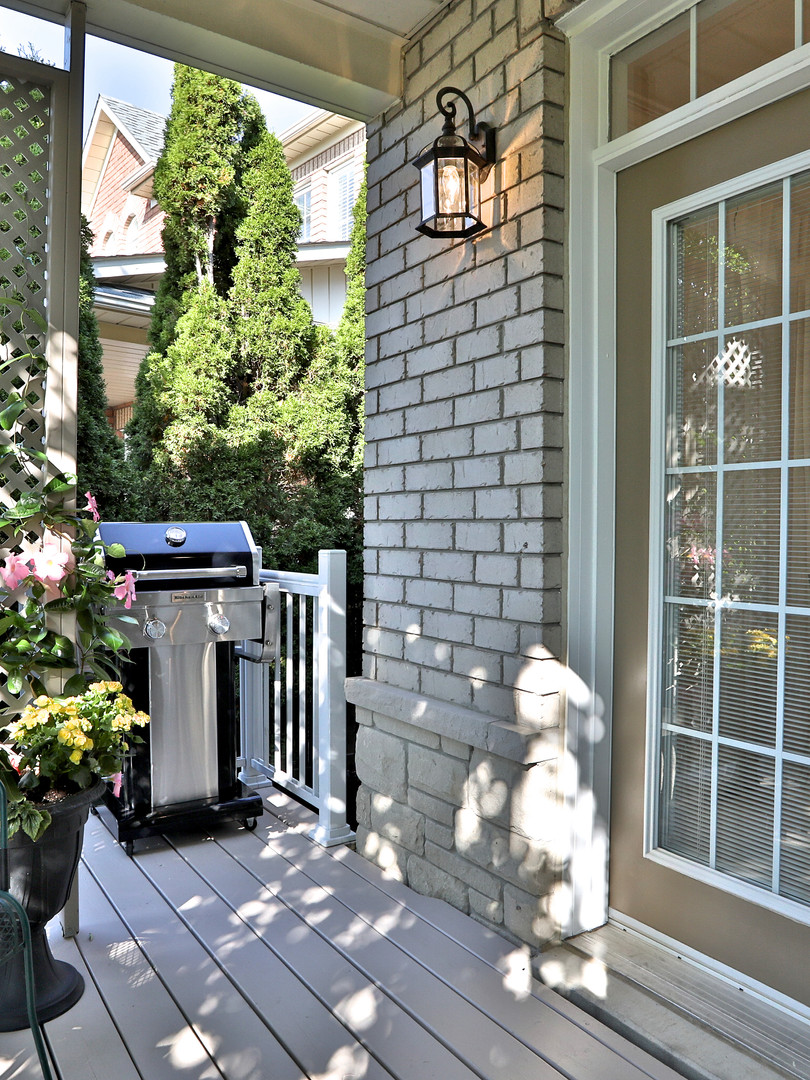French Door Walkout to Covered Porch