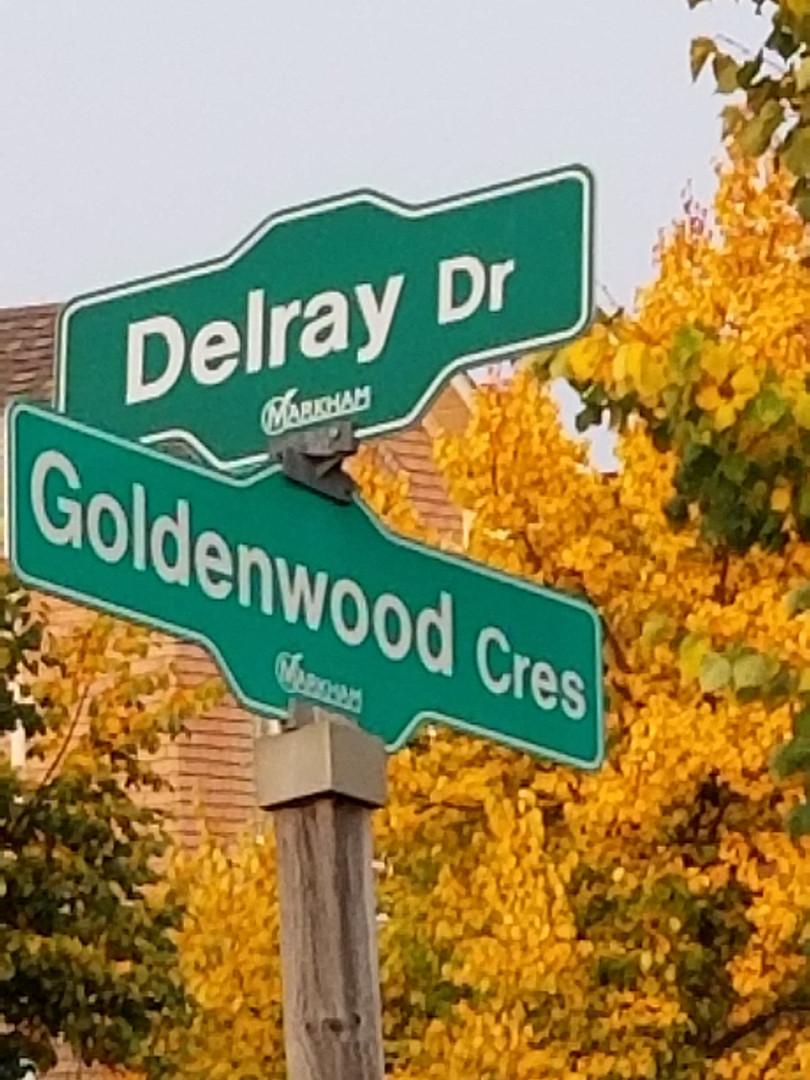 Delray Drive - Goldenwood Crescent Stree