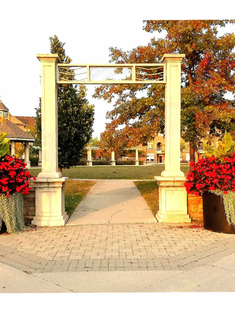 Greensborough Park Entrance