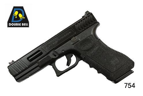 754-GLOCK 17-CNC金属汽动枪(猛将)