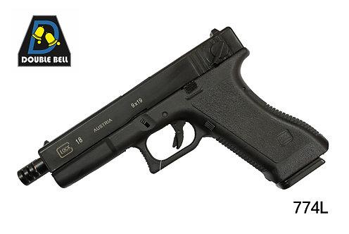 774L-GLOCK 18-汽动枪(GEN2 G18)       可单联发