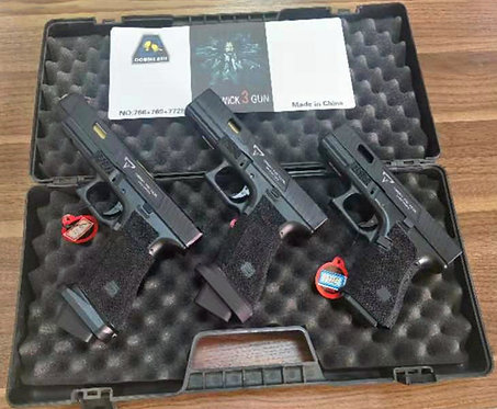 J+3 (768+769+772E)-GLOCK TTI-三支金属汽动枪组合装