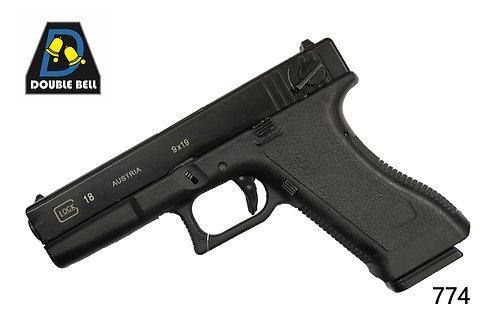 774-GLOCK 18-汽动枪(GEN2 G18)       可单联发