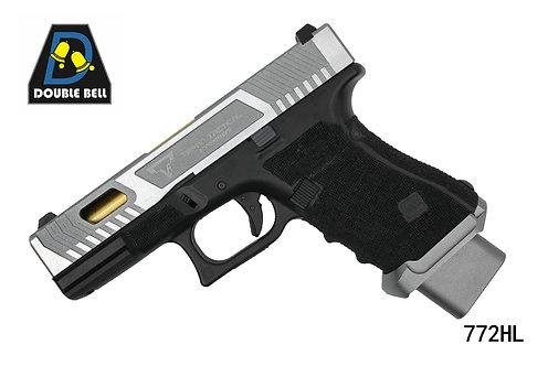 772HL-GLOCK 19 TTI-CNC金属汽动枪