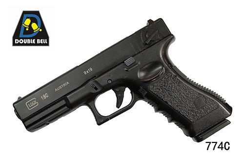774C-GLOCK 18C-汽动枪(GEN3 G18C)       可单联发