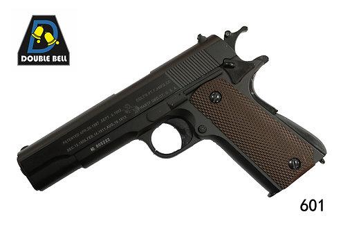 601-1911-全金属手拉枪(黑色)
