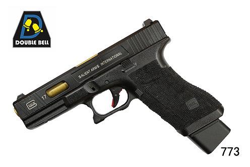 773-GLOCK 17-CNC金属汽动枪(猛将)