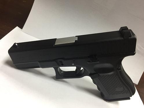 772A-GLOCK 19-全金属汽动枪(黑滑银管)