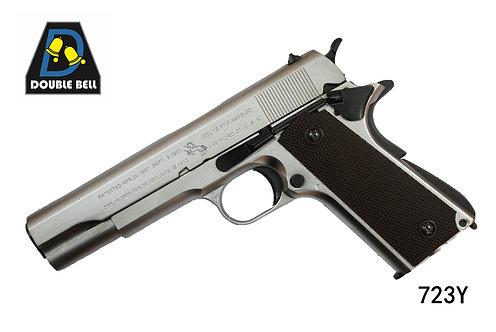 723Y-1911-全金属汽动枪(镀银或金色)