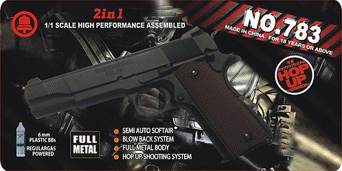 783-1911-全金属汽动枪