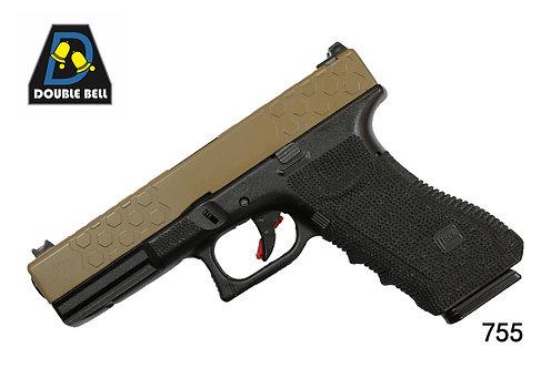 755-GLOCK 17-CNC金属汽动枪(猛将)