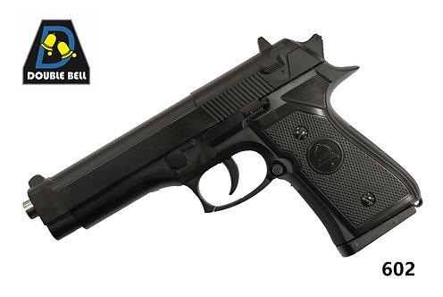 602-M92-全金属手拉枪(黑色
