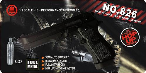 826-M92-CO2全合金汽动枪(全仿KSC结构)