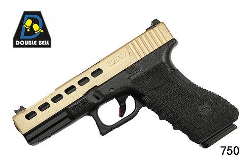 750-GLOCK 17-CNC金属汽动枪(猛将)