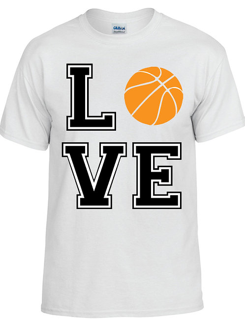 Love Bball T-Shirt