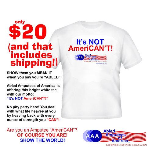 """""""It's NOT American't"""""""