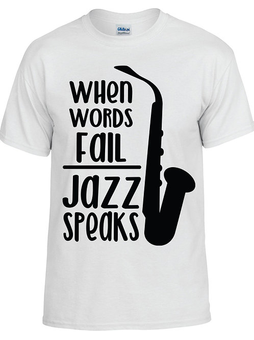 Jazz Speaks T-Shirt