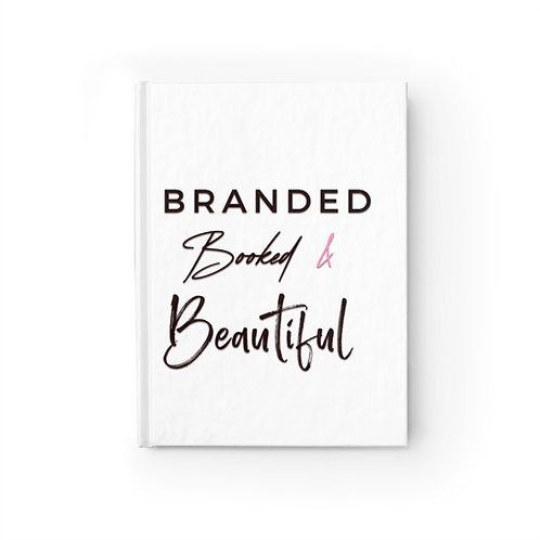 Branded,  Booked & Beautiful Journal - Ruled Line
