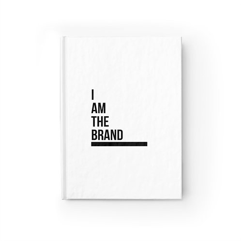 I AM THE BRAND Journal - Blank