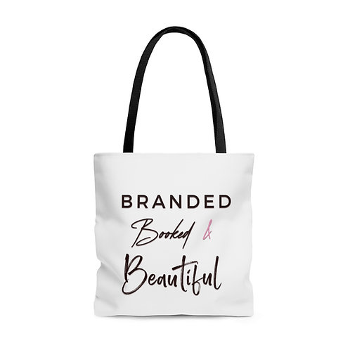 Branded, Booked & Beautiful Tote Bag
