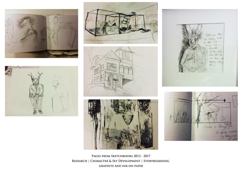 6. Les Vignettes Sketches. Sketchbook.jp