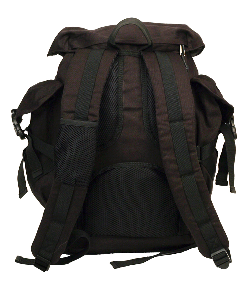 GC Canvas Backpack back